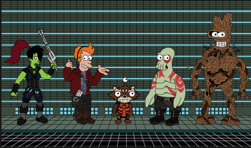 Don't Forget Futurama! 18 Fantastic Futurama Mash-Up Shirts!