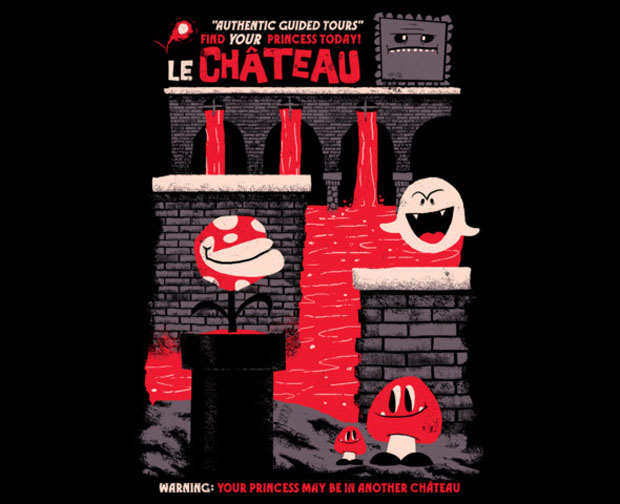 le chateau t-shirt