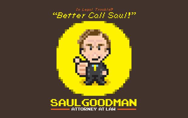 8Bit Saul Goodman