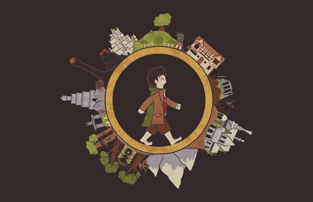 A Hobbits Journey T-Shirt