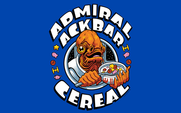 Admiral Ackbar Cereal T-Shirt