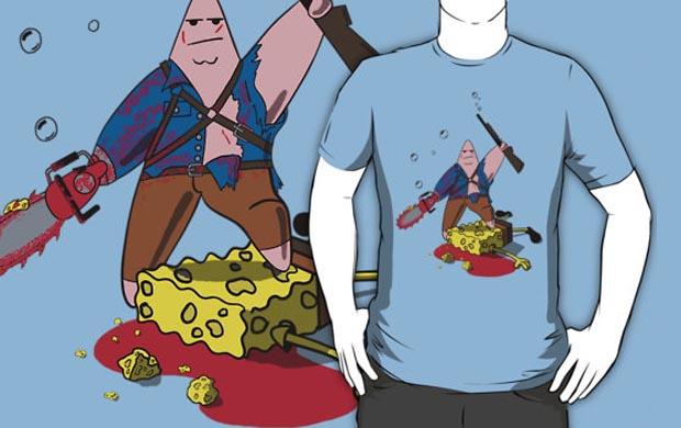 Ashtrick Spongite Hunter T-Shirt