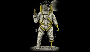 Astronaut Pirate T-Shirt