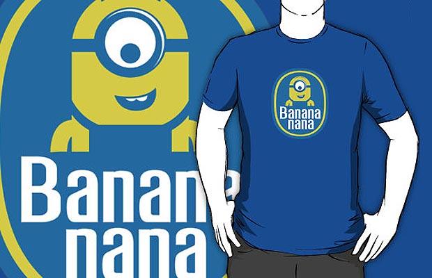 Minions Banana T-Shirt