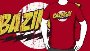 Bazinga Distressed T-Shirt