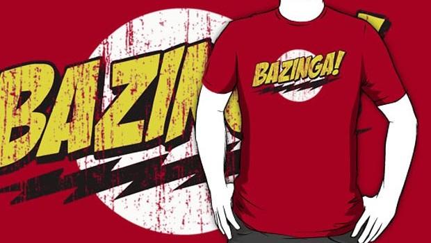 Bazinga Distressed T-Shirt