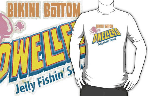 Bikini Bottom Jellyfish Squad T-Shirt