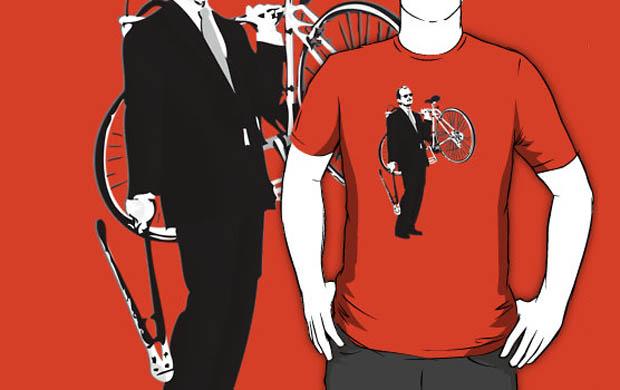 Bill Murray Bike Thief T-Shirt