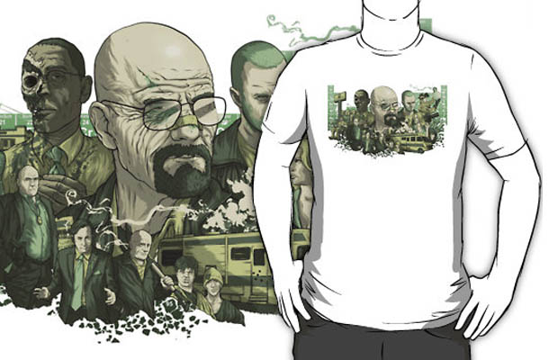 Breaking Bad Series T-Shirt