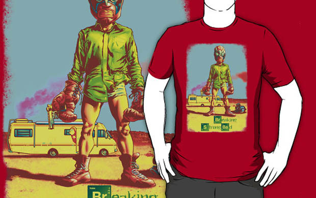 Breaking Strong Bad T-Shirt