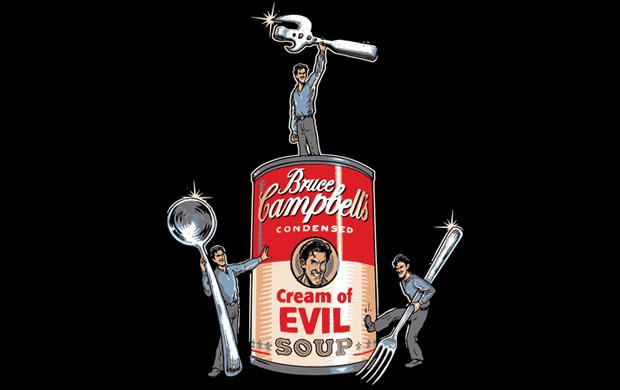Bruce Campbells Soup T-Shirt