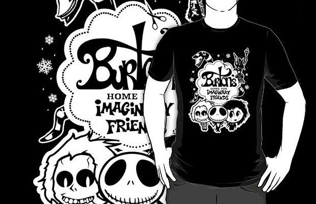 Burtons Imaginary Friends T-Shirt