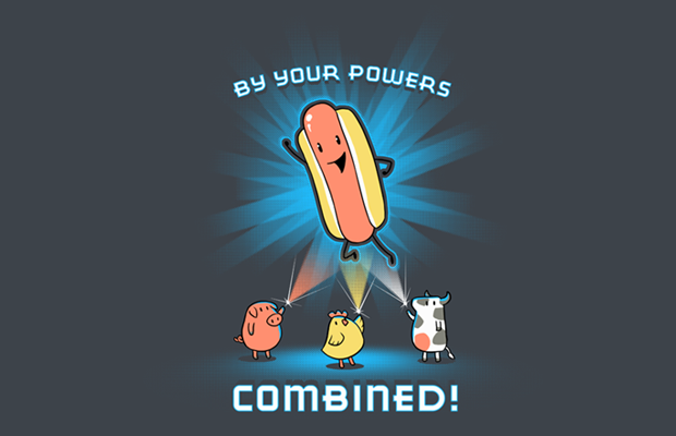 By Your Powers Combined T-Shirt
