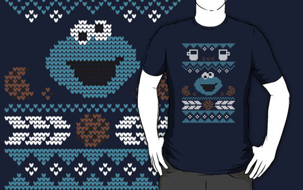 C is for Cookie Sweater T-Shirt