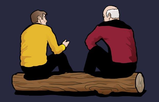 Captains Log T-Shirt