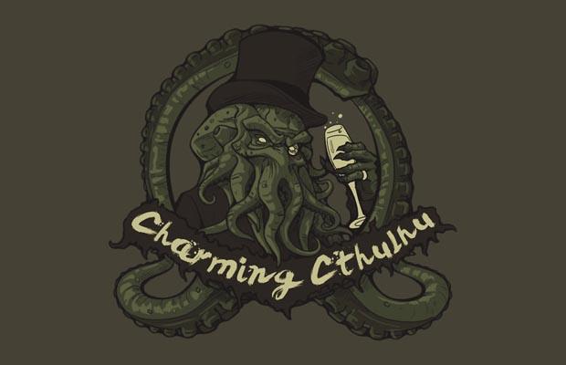 Charming Cthulhu T-Shirt