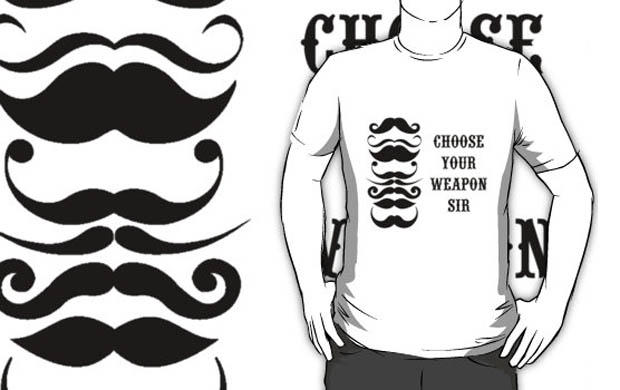 Choose Your Weapon Sir T-Shirt