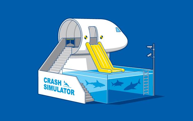 Crash Simulator T-Shirt