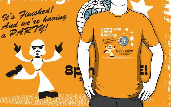 Deathstar Grand Opening Party T-Shirt