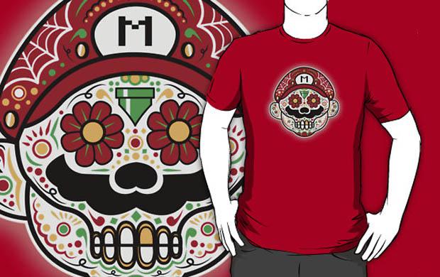 Dia De Los Marios T-Shirt