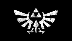 Distressed Zelda Triforce Symbol T-Shirt