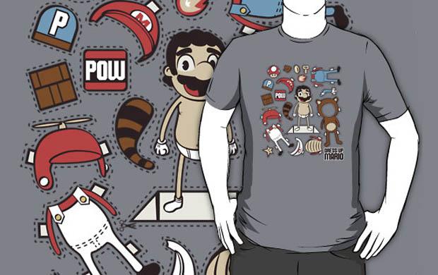 Dress up Mario T-Shirt