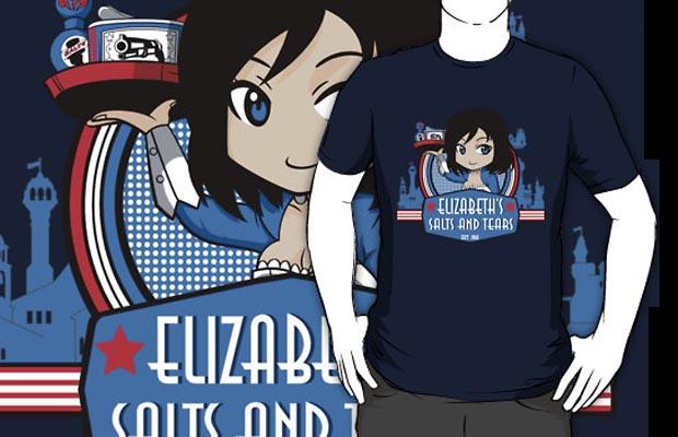 Elizabeths Salts And Tears Shop T-Shirt