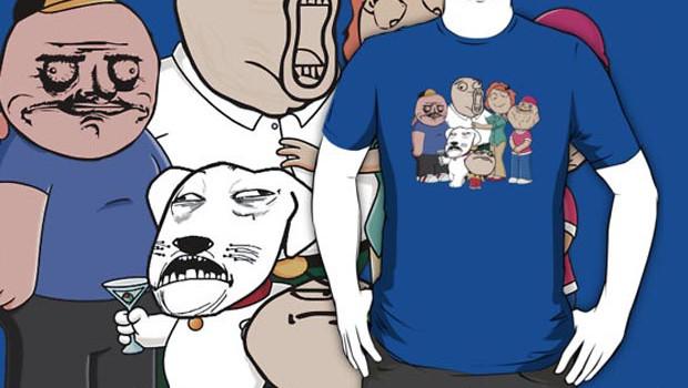 Family Guy Meme T-Shirt
