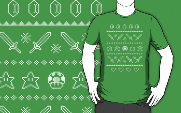 Festive Adventures In Gaming Sweater T-Shirt