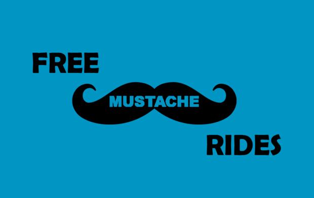 Free Mustache Rides T-Shirt