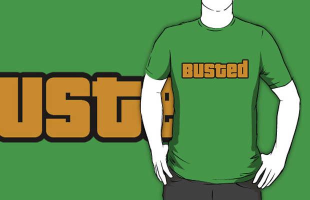 GTA Busted T-Shirt