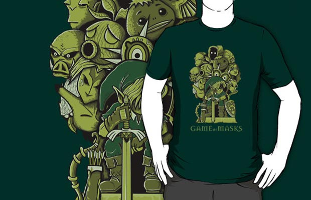 Game of Masks T-Shirt