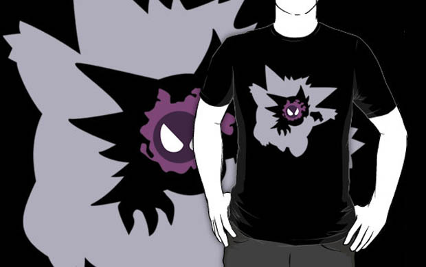 Gastly Haunter Gengar T-Shirt