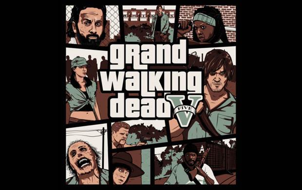 Grand Walking Dead T-Shirt