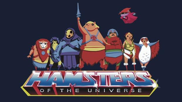 Hamsters Of The Universe T-Shirt
