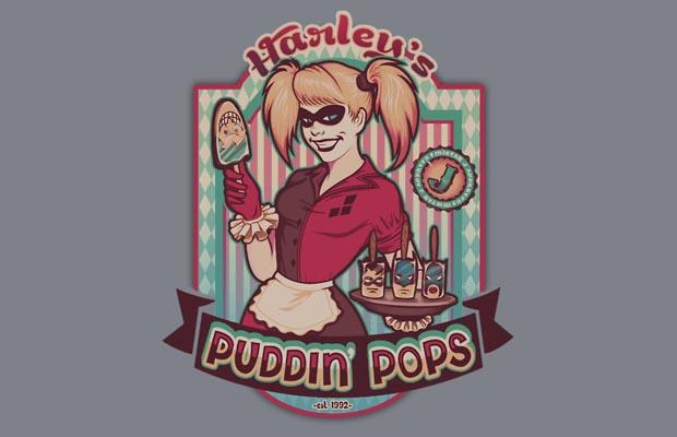 Harley's Puddin Pops T-Shirt