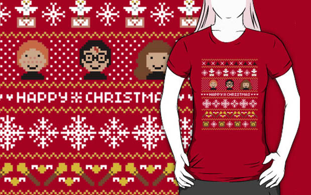 Harry Potter's Magical Ugly Christmas Sweater T-Shirt
