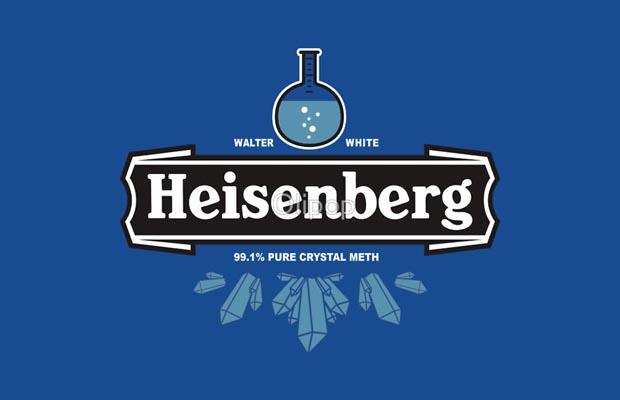 Heisenberg Crystal Meth T-Shirt