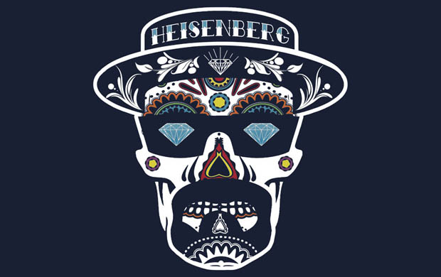 Heisenberg de los Muertos T-Shirt