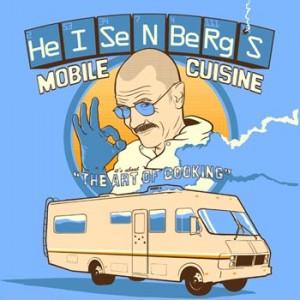 Heisenbergs Mobile Cuisine Tee Shirt