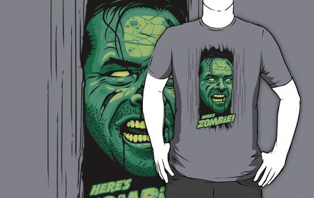 Heres Zombie! T-Shirt