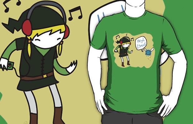 Hey Listen T-Shirt