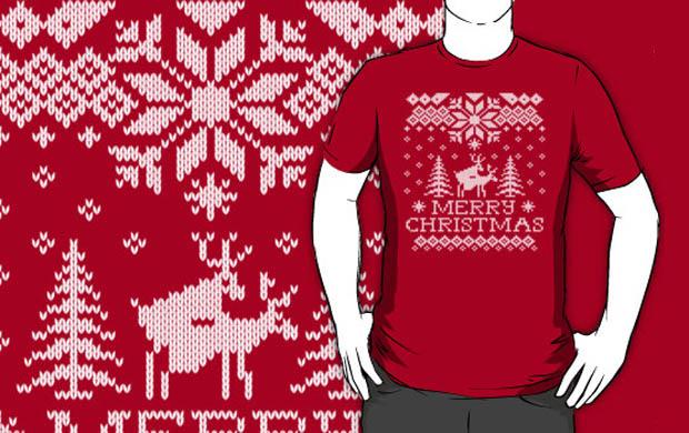 Humping Reindeer Sweater T-Shirt