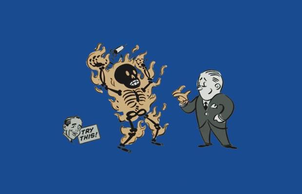 Incinerate Plasmid Advert T-Shirt