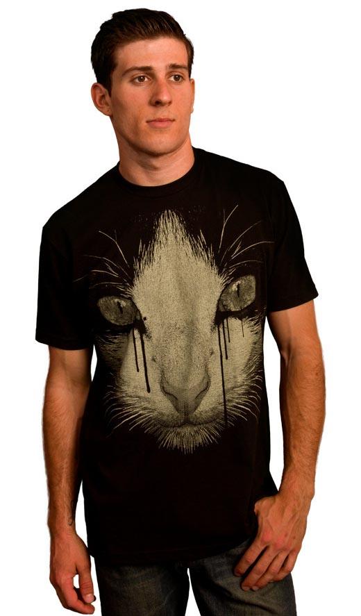 Inked Cat Tee Shirt