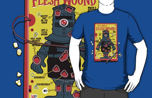 Its Just A Flesh Wound T-Shirt