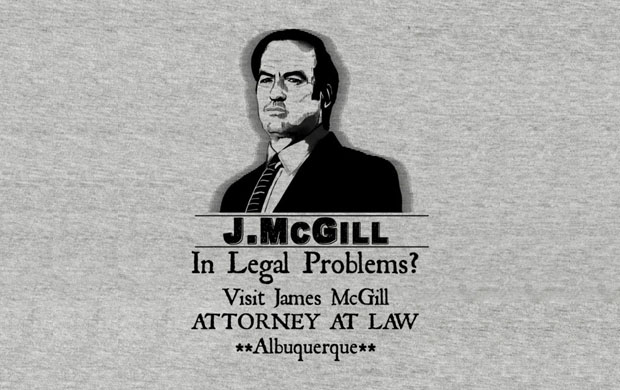 J McGill Attorney at Law T-Shirt