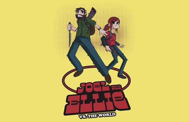 Joel and Ellie vs. the World T-Shirt