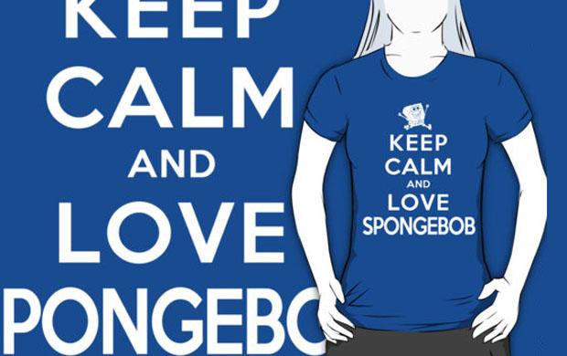 Keep Calm and Love Spongebob T-Shirt