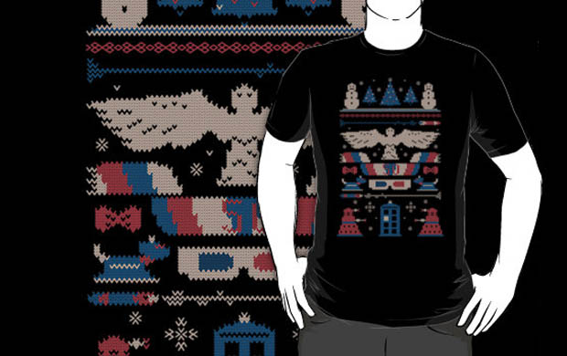 Knitting Across Time and Space Sweater T-Shirt